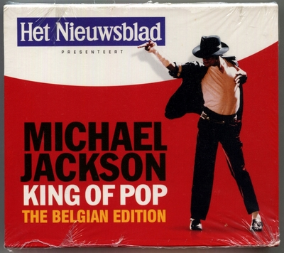 MICHAEL JACKSON-2008-KING OF POP-THE BELGIAN EDITION-33曲精选CD-比利时2CD版