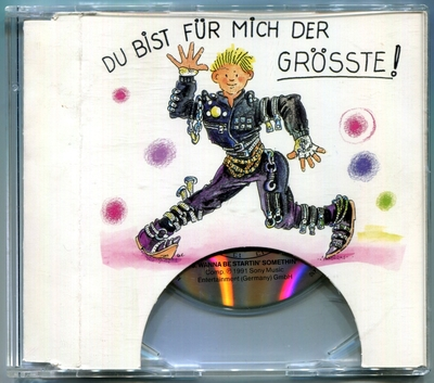 1991-MICHAEL JACKSON-DU BIST FUR MICH DER GROSSTE!-2 TRACKS-GERMANY 3INCH CDSINGLE-德国3寸卡版