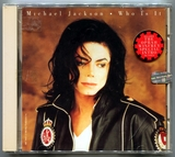 1993-MICHAEL JACKSON-WHO IS IT-5 TRACKS-USA CDSINGLE-侧全息美国首版2