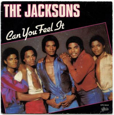 1980-THE JACKSONS-CAN YOU FEEL IT-荷兰版7寸单曲唱片